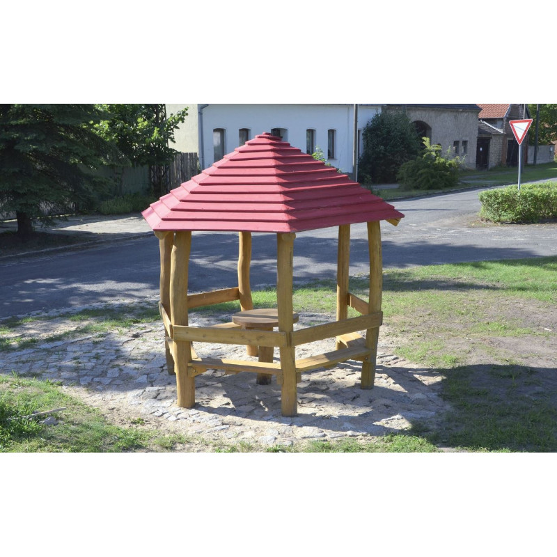 Pavillon - Robinienholz SIK