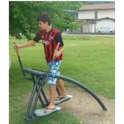 Vélo elliptique - appareil de sport outdoor