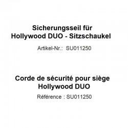 Corde de sécurité pour siège Hollywood DUO
