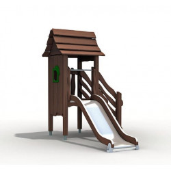 Elbenturm -Spielturm mit Rutsche