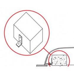 Poids en béton pour la fixation de Starfish mini