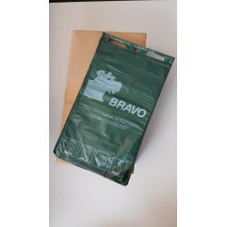 BRAVO Hundekot-Beutel geblockt, dunkelgrün
