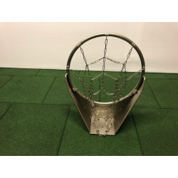 """Basketballkorb """"Edelstahl"""" inkl. Netz"""