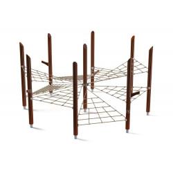 Klettergerüst Drachenhort - Gerät für Naturspielplatz