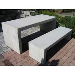 GTSM table en béton