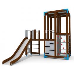 Halo Spielturm mit Rutsche - Urbane Spielplatzanlage