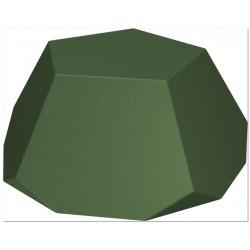 Demi-diamant - élément de séparation, d'équilibre ou siège