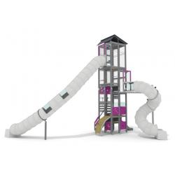 Skyline Zürich - Installation pour place de jeux urbaine