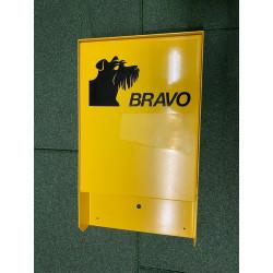 BRAVO Set - distributeur de sachets pour crottes de chien