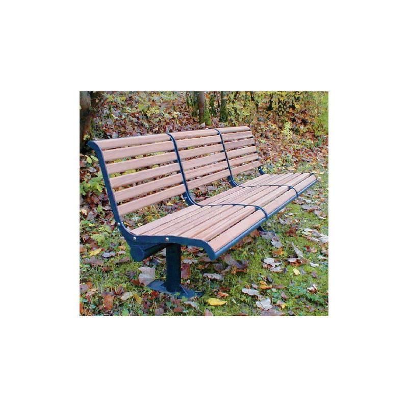 Jung 12-3 - Banc de parc avec lattage en bois