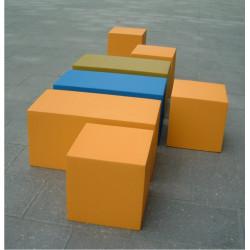 "Pouf/tabouret - Sixinch ""Blocks"""