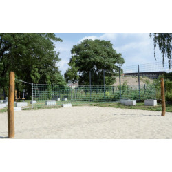Volleyball-Spielfeld - Robinienholz SIK