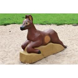 """Sculpture de jeu """"le chevreuil"""" - en robinier SIK"""