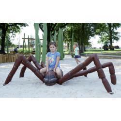 """Spielskulptur """"Kleine Spinne"""" - Robinienholz SIK"""