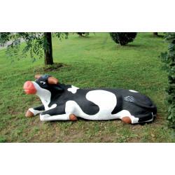 "Sculpture de jeu ""la vache"" - robinier SIK"