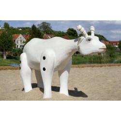 """Sculpture de jeu """"la chèvre"""" - en robinier SIK"""