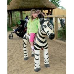 "Spielskulptur ""Zebra"" - Robinienholz SIK"