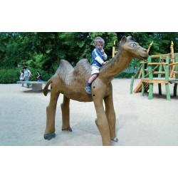 """Sculpture de jeu """"le chameau"""" - robinier SIK"""