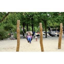 Mini-Schaukel und Mini-Schwinger - Robinienholz SIK