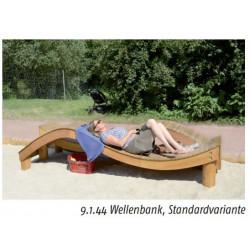 Wellenbank - Robinienholz SIK