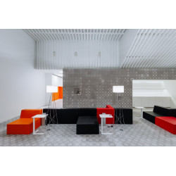 """Fauteuil/table """"Trinity collection"""" - Sixinch"""