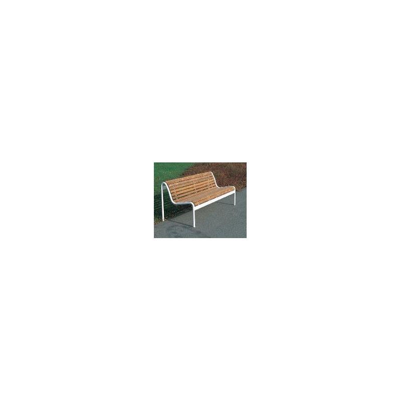 Jung 14-3 - banc de parc avec lattage en bois