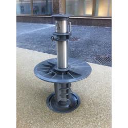 fontaine en acier inoxydable