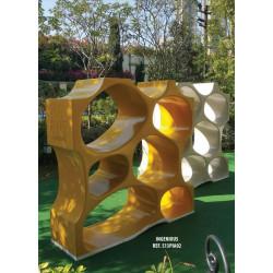 Bienenwaben-Skulptur INGENIOUS PLAY IN ART®
