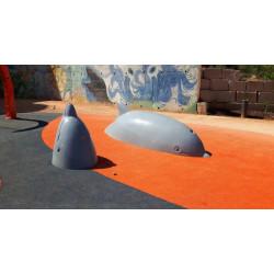 SpielskulpturTanzende Delphine by PLAY IN ART®