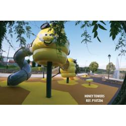 Honigtopf Spielturm by PLAY IN ART®