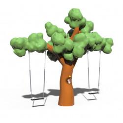Zweifach-Schaukel Magischer Baum by PLAY IN ART®