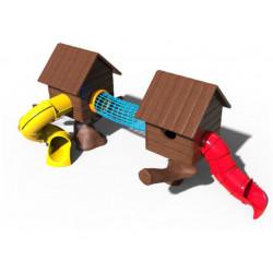 Spielanlage Baumhaus by PLAY IN ART®