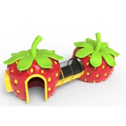 Erdbeer-Spielturm by PLAY IN ART®