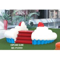 Toboggan Cupcake PLAY IN ART®