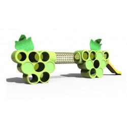 Spielanlage mit Rutschbahn Traube by PLAY IN ART®