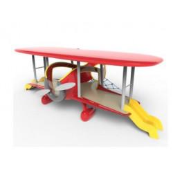 Avion biplan by PLAY IN ART®