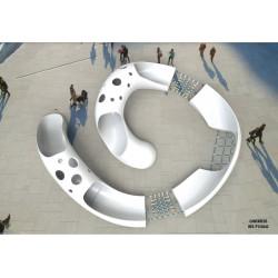Spieltunnel Grunzschnecke-Cantareus by PLAY IN ART®