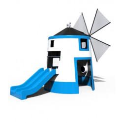 Interaktives Spielgerät Windmühle by PLAY IN ART®