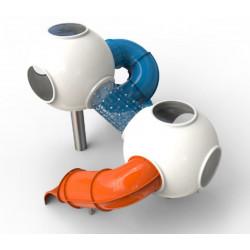 Sphères avec toboggan by PLAY IN ART®