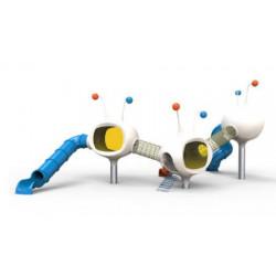 Spielturm-Anlage Futur Haus by PLAY IN ART®