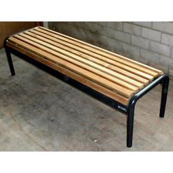 Jung 15-3 Sitzbank mit Holzbelattung
