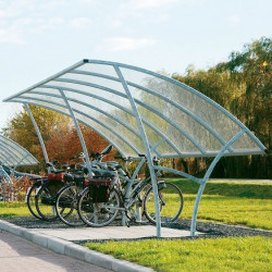 Abris pour vélos Linea