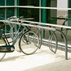 Luna pulverbeschichtet - Fahrradparksystem