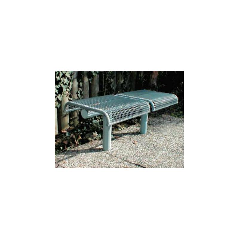 Jung 25 - banc grillagé (siège) à scéller