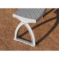 Système 104 Lavario Pied-Support - système de banc en aluminium
