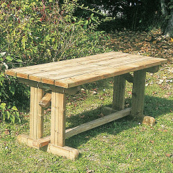 Antero - série - table de bois