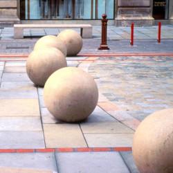 Escofet Bollards - boules en béton