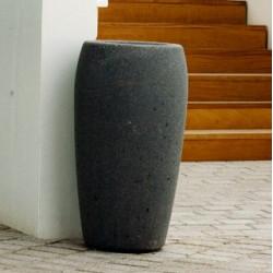 Net - Abfallbehälter/ Ascher aus Beton