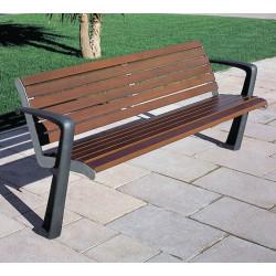 Escofet Proa - Sitzbank aus Holz/ Metall