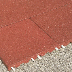 Plaques de protection de chutes - 8 cm/ rouge